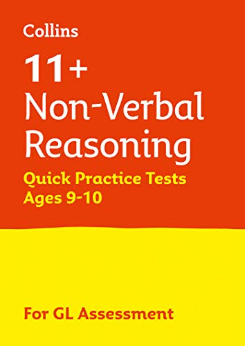 Collins 11+ Practice – 11+ Non-Verbal Reasoning Quick Practice Tests Age 9-10 (Year 5): For the 2020 GL Assessment Tests from HarperCollins UK