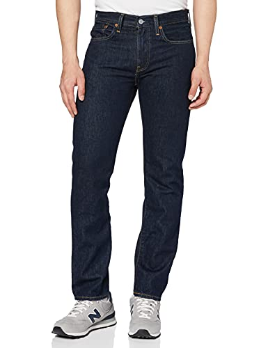 Levi's Men's 502 Regular Tapered Fit Jeans, Blue (Prewashed 95977 0181), 28W/32L from Levi's