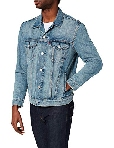 2454b505e0 Levi's Men's Jacket Denim, Blue (Killebrew Trucker 0351), Large from Levi's