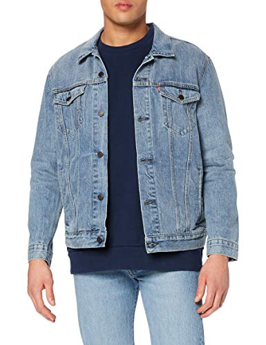 Levi's Men's The Trucker Denim Jacket, Blue (ICY 0146), Large from Levi's