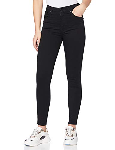 Levi's Women's Mile High Super Skinny Jeans, Black (Black Galaxy 0052), W24 / L30 from Levi's