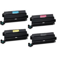 1 Full Set of Lexmark 12N0771 Black and 1 x Colour Set 12N0768/69/70 (Remanufactured) Toner Cartridg from Lexmark