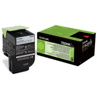 Lexmark 702HK Original Black High Capacity Return Program Toner Cartridge (70C2HK0) from Lexmark