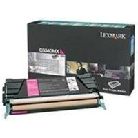 Lexmark C5340MX Original Magenta Extra High Yield Return Program Toner Cartridge from Lexmark