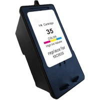 Lexmark No.35XL Colour Remanufactured High Capacity Ink Cartridge from Lexmark