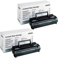 Original Multipack Lexmark Optra E Plus Printer Toner Cartridges (2 Pack) -CB-2P-69G8256_9968 from Lexmark