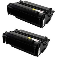 Compatible Multipack Lexmark T420dt Printer Toner Cartridges (2 Pack) -RT-2P-12A7415_9343 from Printerinks