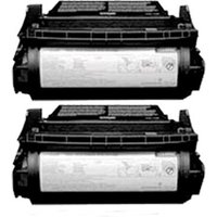 Compatible Multipack Lexmark T620 Printer Toner Cartridges (2 Pack) -RT-2P-12A6860_7528 from Printerinks