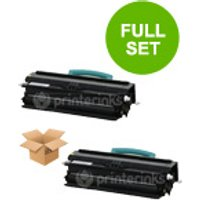 TwinPack: Lexmark X340H11G Black Remanufactured Toner Cartridge from Lexmark