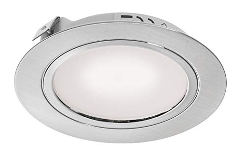 Leyton Lighting 2w 12v LED Recessed Downlight Frosted Stainless Steel Cool White DRIVER REQUIRED from Leyton Lighting