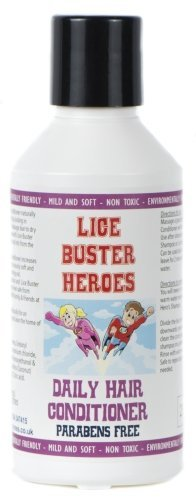 Lice Buster Heroes Conditioner 250ml for the removel of Head lice and nits from Lice Biuster Heroes