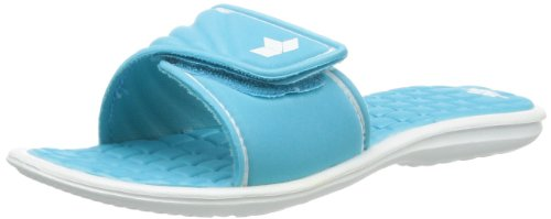 Lico Women's Malediven Beach & Pool Shoes, Turquoise (Tuerkis/Weiss), 5 UK from Lico