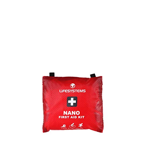 Lifesystems Unisex's Light & Dry Nano First Aid Kit, Red, One Size from Lifesystems