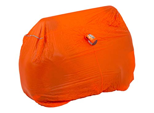 Lifesystems Unisex's Ultralight Survival Shelter 2, Orange, One Size from Lifesystems