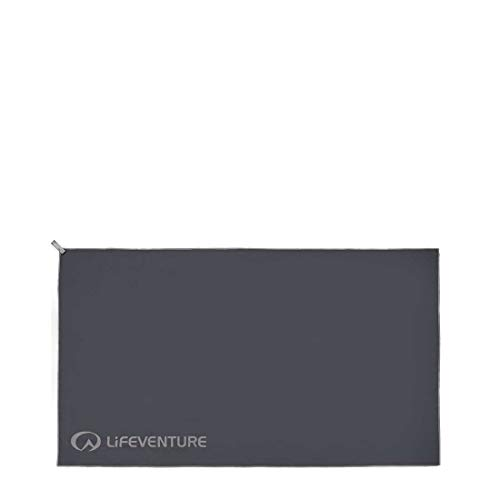 Lifeventure Hydrofibre Towel XL – Grey from Life Venture