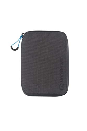 Lifeventure Unisex-Adult's (Grey) RFID Protected Mini Travel Wallet, One Size from Lifeventure