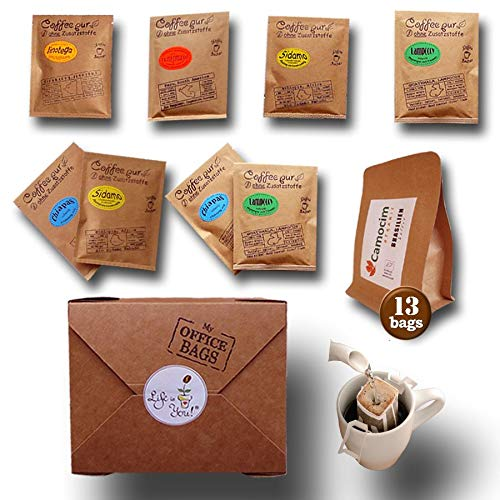 Life is You! - Coffee Bags - 6 Different Sorts (3 Bags per Type á 10 GR) from Life is You!