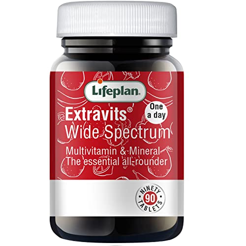 Lifeplan Extravits Wide Spectrum 90 Tablets from Lifeplan
