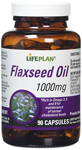 Lifeplan Flaxseed Vegicaps Oil 1000mg 90 Capsules from Lifeplan