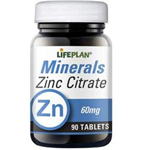 Lifeplan Zinc Citrate 90 Tablets from Lifeplan