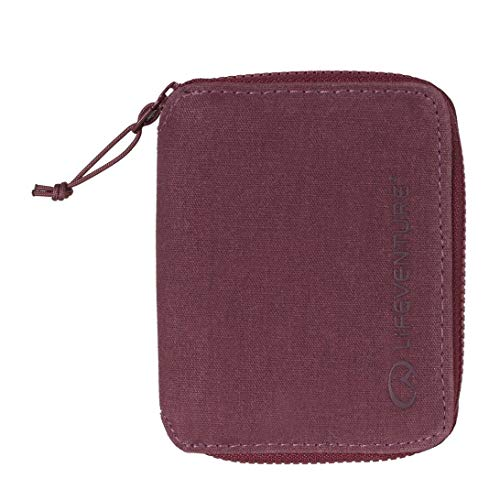 Lifeventure Unisex's RFiD Protected Bi-Fold Wallet, Purple from Lifeventure