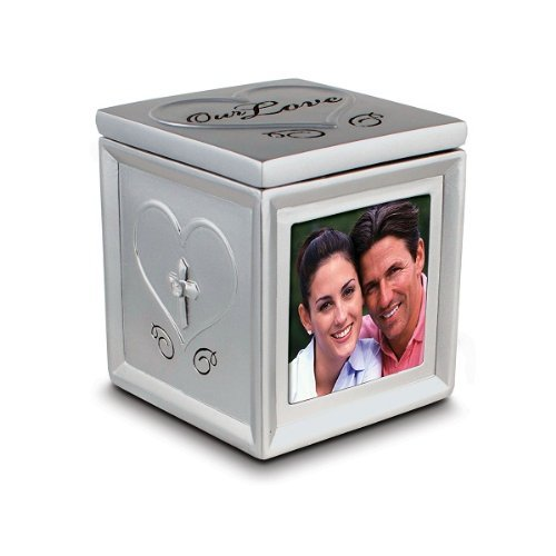Our Love Photo and Keepsake Box - 1 Corinthians 13:4 from Lighthouse Christian Products