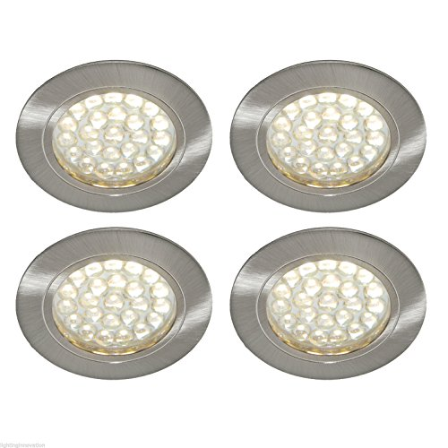 4 x 12V LED SPOTLIGHTS /DOWNLIGHTERS, CAMPERVAN, CARAVAN, MOTORHOME LIGHTING from Lighting Innovations