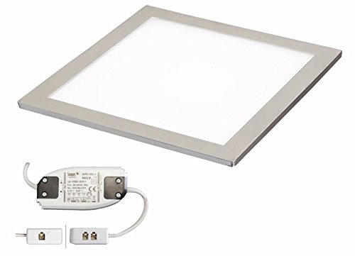 1 X SQUARE KITCHEN LIGHT SLIM FLAT PANEL UNDER CABINET CUPBOARD COOL WHITE LED from Lighting innovations