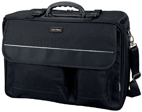 Lightpak - 46008 THE FLIGHT - pilot case overnight, nylon, black from Lightpak