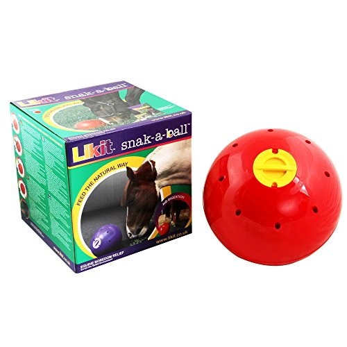 Likit Snak-a-Ball (One Size) (Red) from Likit