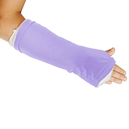 Limbo Cast Sleeve for Casts and Dressings (Large, Lilac) from LimbO Waterproof Protectors