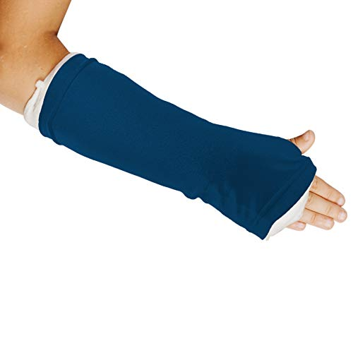 Limbo Cast Sleeve for Casts and Dressings (Medium, Blue) from LimbO Waterproof Protectors
