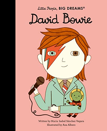 David Bowie (26) (Little People, BIG DREAMS) from Frances Lincoln Children's Books