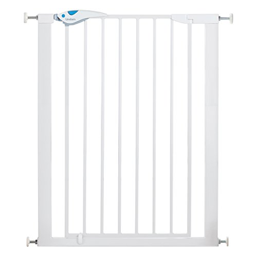 Lindam 051300 Easy Fit Plus Deluxe Tall Extra High Pressure Fit Safety Gate 76-82 cm, White from Lindam