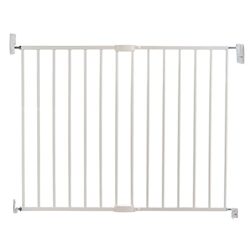 Lindam Push To Shut Easy Close Extending Metal Safety Gate from Lindam