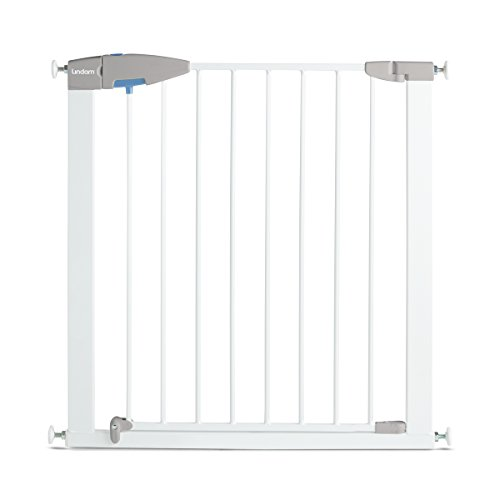 Lindam Sure Shut Porte Pressure Fit Safety Gate, White, 76-82 cm from Lindam