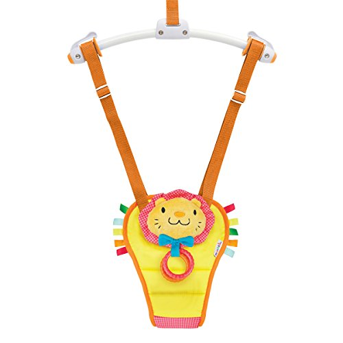 Munchkin Bounce and Play Baby Door Bouncer (Lenny the Lion) from Munchkin