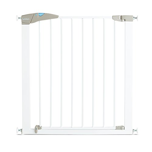 Lindam Sure Shut Axis Pressure Fit Safety Gate 76 - 82 cm, White from Lindam