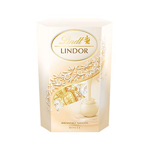 Lindt - Lindor - White Cornet - 200g (Case of 8) from Lindt