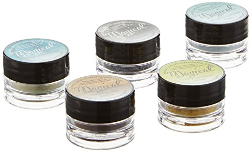 Lindy's Stamp Gang Embossing Powder Lindy's Stamp Gang Magical Set .25 oz. Jars 5 kg-Industrial Chic from Lindy's Stamp Gang
