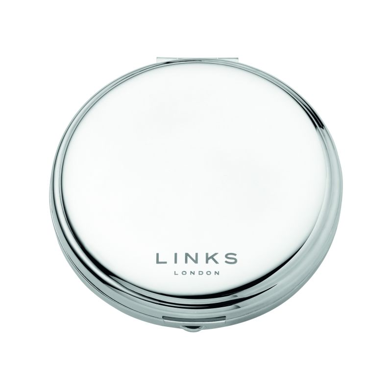 Ladies Links Of London Stainless Steel Compact Mirror from Links Of London Jewellery