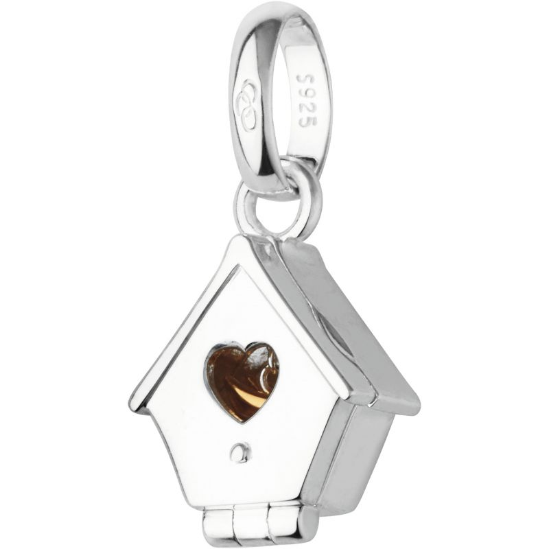 Ladies Links Of London Sterling Silver British Summer Birdhouse Charm from Links Of London Jewellery