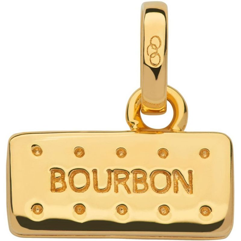 Ladies Links Of London Sterling Silver British Tea Keepsakes Bourbon Biscuit Charm from Links Of London Jewellery