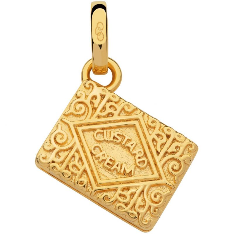 Ladies Links Of London Sterling Silver British Tea Keepsakes Custard Cream Charm from Links Of London Jewellery