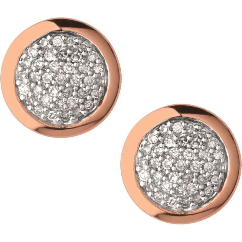 Ladies Links Of London Sterling Silver Diamond Essential Earring from Links Of London Jewellery