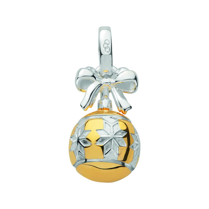 Ladies Links Of London Sterling Silver Festive Keepsakes Bauble Charm from Links Of London Jewellery