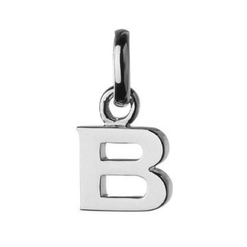 Ladies Links Of London Sterling Silver Keepsakes Alphabet B Charm from Links Of London Jewellery