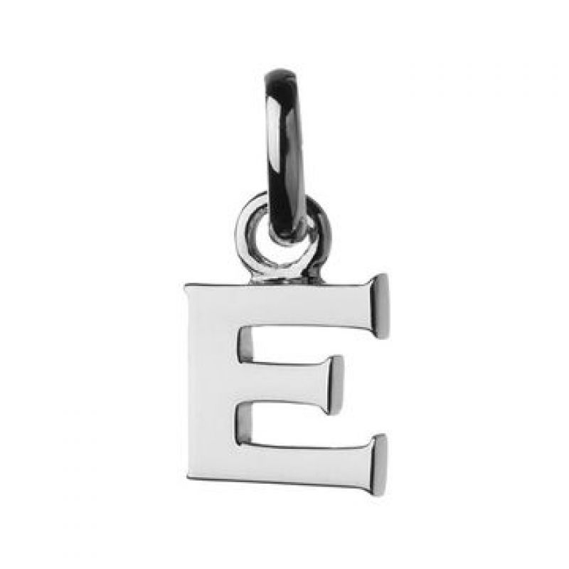 Ladies Links Of London Sterling Silver Keepsakes Alphabet E Charm from Links Of London Jewellery