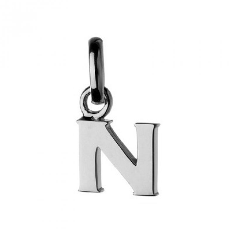 Ladies Links Of London Sterling Silver Keepsakes Alphabet N Charm from Links Of London Jewellery