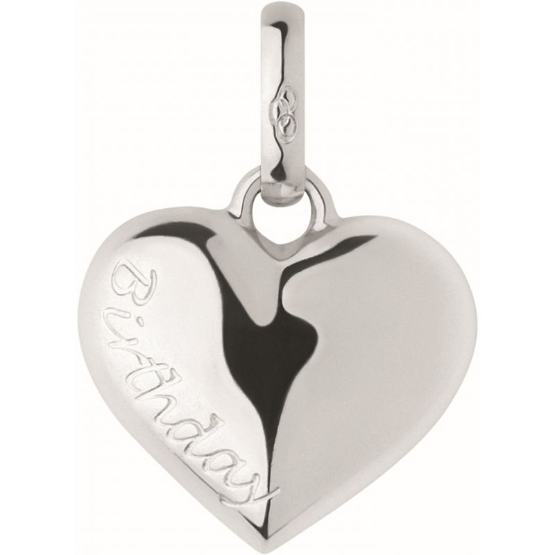 Ladies Links Of London Sterling Silver Keepsakes Birthday Heart Charm from Links Of London Jewellery